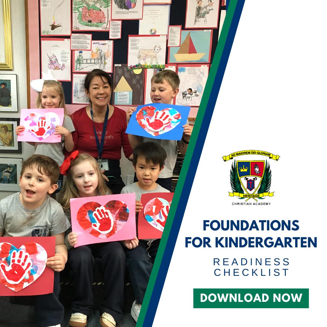 Foundations for Kindergarten Readiness Checklist